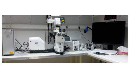 Microscope confocal LSM700
