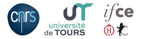 logo du CNRS université Tours-IFCE